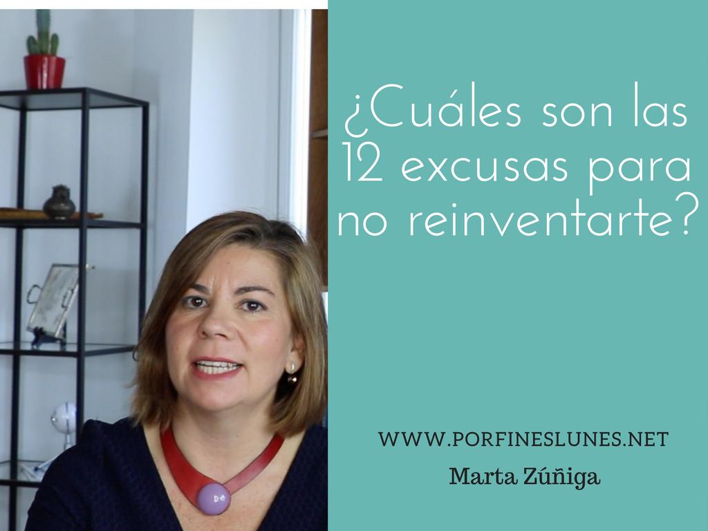 ¿Cuáles son las 12 causas para no reinventarse?